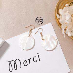 NEW Elegant Style *Handmade* Earrings white
